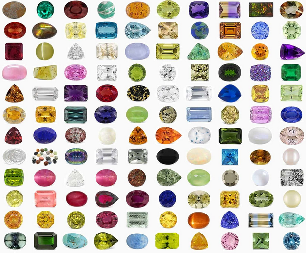 Colored stones lincoln park gems